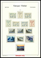 Lot 19385:1975-88 Complete SG #6-173 incl M/S on Leuchturn hingeless pages, all checked stamps were MUH, Cat £250+.