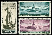 Lot 22435 [1 of 2]:1960 World Refugee Year & Martyrs' Commemoration SG #647-51 sets of 2 of both printings and set of 3 (MH x2), Cat £10.