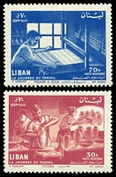 Lot 22437:1961 Labour Day SG #690-1 set of 2.