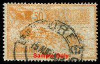 Lot 4100:1903 Opening New Post Office SG #468-9,471 15L, 25L & 50L, Cat £38.
