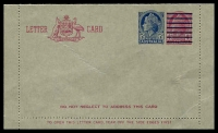 Lot 997:1959 5d On 4d Claret QEII BW #LC83 unused, small crease.