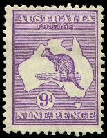 Lot 1004:9d Violet [3R2] Break in shading line west of Broome