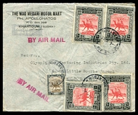 Lot 4687:1949 (May 4) use of 5m & 10m Legislative Assembly x4 on air cover to Melbourne.