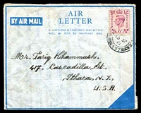 Lot 4174:1947 use of 6d, cancelled with '[FIELD POST OFF]