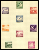 Lot 4414:1954-65 Pictorials SG #48-56 set of 9, Cat £14.