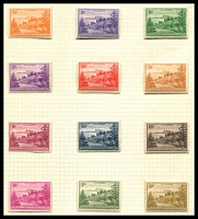 Lot 4457:1947-59 Ball Bay SG #1-12 original paper set of 12.