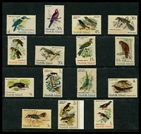 Lot 4486:1970-71 Birds SG #103-17 complete set, Cat £27. (15)