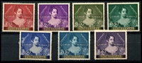 Lot 4541:1953 Stamp Centenary SG #1102-9 set of 8, MNG, Cat £140.
