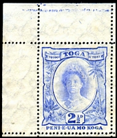 Lot 22206 [2 of 3]:1920-35 Pictorials Wmk Turtles Sideways SG #59a, 2½d blue recut 2½ [1/1] and wide D [4/10] in complete sheet of 60, Cat £384++, plate 2 below 5/2 and screw head in margin, gum quite aged