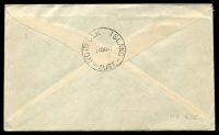 Lot 5407 [2 of 2]:1947 Sydney - Norfolk Island AAMC #1113 plain cover with Newcastle set, signed by pilot, Cat $125.