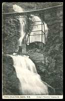Lot 1544 [2 of 2]:624: BN on ½d & 1d on PPC of 'Stoney Creek Falls.' showing the Cairns railway bridge. Addressed to Scalloway, Shetland (fine cds) and then redirected to Leith. [Rated 2R]  Allocated to Stannary Hills-RO c.-/1/1901; PO c.-/1/1902; closed 26/1/1955.