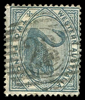 Lot 2981:28: on 1890 2d grey.  Allocated to Irwin-PO c.1858; closed 28/4/1978.