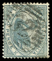 Lot 2982:32: on 1890 2d grey.  Allocated to Sharks Bay-PO 20/10/1873; renamed Shark Bay PO c.-/9/1920.