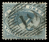 Lot 3361:19: on 1890 2d grey.  Allocated to Dardanup-PO 22/10/1867.