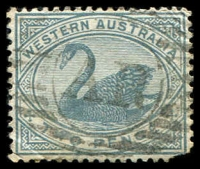 Lot 17764:AR: of Arthur River on 1890 2d grey.
