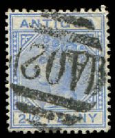 Lot 3218:1882 QV Wmk Crown/CA SG #27 2½d ultramarine, Cat £14.