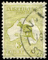 Lot 125:3d Olive Die II BW #12 Cat $350.