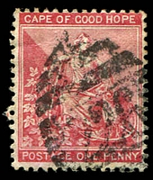 Lot 17674:226: of Craddock on 1885 1d rose-red.