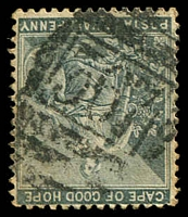 Lot 3797:367: of Fraserburg Road on 1885 ½d grey.