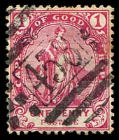 Lot 18559:458: of Haarlem on 1893 1d carmine.