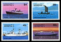 Lot 3519 [2 of 2]:1984 Shipping SG #890-4 set of 4 plus M/S, Cat £14.