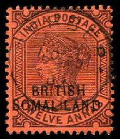 Lot 28196:1903 QV - Overprint At Top SG #9 12a purple/red, NO20/03 CTO cancel.
