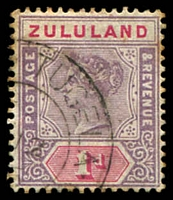 Lot 4559:Lower Tugela: double-circle '[LOWER] TUGELA/?12/96/[ZULULAND]