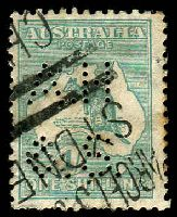 Lot 891:Anthony Hordern: 'A.H/&S.' #AH&S.1 on Sm Mult 1/- Roo.