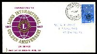 Lot 4448:Parade 1967 Lions neatly addressed. The first branded Parade cover.