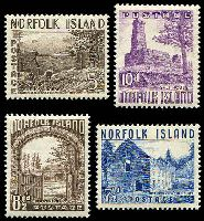 Lot 26782 [1 of 2]:1953 Pictorials SG #13-8 set of 6, 7½d small tonespot, Cat £38.