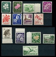 Lot 26078:1960-62 Pictorials SG #24-36 complete set.