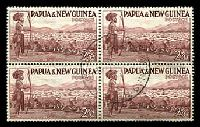 Lot 26679:1952-58 Pictorials SG #13 2/6d Sheep block of 4.