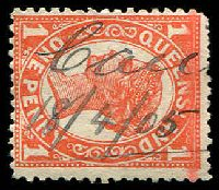 "Lot 1578:Cania (2): - mss ""Can[ia]/18/4/05"" (3rd hand) on 1d 4-Corners.  RO c.1882; PO c.-/7/1909; closed 16/7/1959."