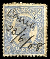 "Lot 1202:Cania (2): mss ""Cania/23/6/08"" (4th hand) on 2d 4-Corners.  RO c.1882; PO c.-/7/1909; closed 16/7/1959."