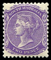 Lot 1295:1905-11 Wmk Crown/A Perf 12x11½ SG #295 2d bright violet.