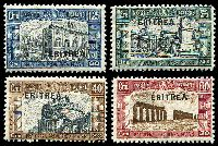 Lot 18854:1927 National Defence SG #116-9 set of 4, Cat £13.