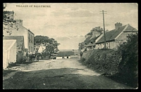 Lot 4096:Ballymore: real-photo PPC of 'VILLAGE OF BALLYMORE', fine unused. This is a small town with about 50 houses in 1911.