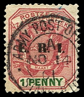 Lot 4358:APO Standerton double-circle 'ARMY POST OF[FICE]/1/NO14/01/STANDERTO[N]