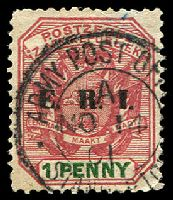 Lot 27560:APO Standerton double-circle 'ARMY POST OF[FICE]/1/NO14/01/STANDERTO[N]