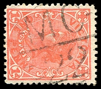 Lot 10998:1122: 'MC/22' on 1d pink. [Rated S]  Allocated to Elliminyt-PO 1/2/1879; closed 30/6/1993.