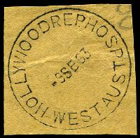 Lot 3126:Hollywood Repatriation Hospital: 'HOLLYWOODREP.HOSP/9SE63/WEST AUST' (E31-b) on piece.  Renamed from Hollywood Military Hospital PO c.-/3/1947; renamed Repatriation Hospital Hollywood PO 1/11/1966.