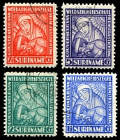Lot 4688:1928 Indigenous Diseases SG #202-5 set of 4, Cat £25.