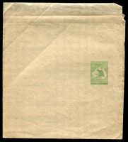 Lot 4296:1913-15 ½d Green Kangaroo BW #W1 fresh mint, Cat $75.
