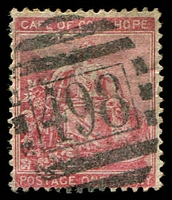 Lot 17678:498: BONC of Woodstock on 1d Seated Hope.