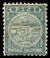 Lot 3714:1891-1902 New Designs Perf 11 SG #86 ½d slate-grey.