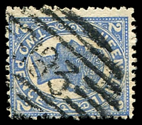 Lot 1446:183: BN on 2d 4-Corners.  Allocated to Lowood-RO c.-/6/1884; PO 15/10/1888.