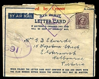 Lot 881:Air Force Post Office 'AIR FORCE POST OFF