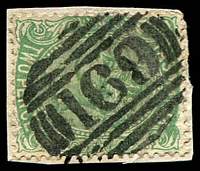 Lot 2232:169: on 2d Sideface on piece.  Allocated to Ringarooma-PO 1/10/1874.
