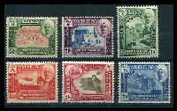 Lot 3209 [1 of 2]:1942-46 Pictorials SG #1-11 complete set of 11, Cat £70.