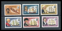 Lot 3477 [2 of 2]:1972 Ships Wmk Upright SG #323-34 set of 12, some hinge rems, Cat £26.